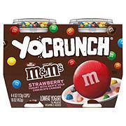 YoCrunch M&M's Strawberry Low Fat Yogurt