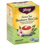 Yogi Blueberry Slim Life Green Tea Bags