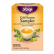 Yogi tea cold season sampler 16 bag(s) swanson health products.
