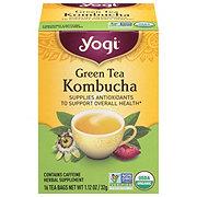 Yogi Green Tea Kombucha Herbal Tea Bags