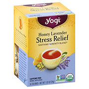 Yogi Honey Lavender Stress Relief Caffeine Free Tea Bags