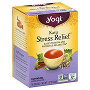 Yogi Kava Stress Relief Caffeine Free Tea Bags