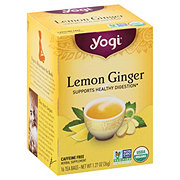 Yogi Lemon Ginger Tea Bags