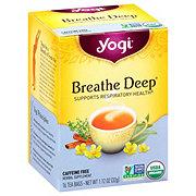 Yogi Organic Breathe Deep Caffeine Free Tea Bags