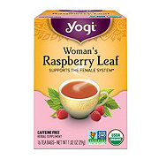 Yogi Organic Woman's Raspberry Leaf Caffeine Free  Tea Bags