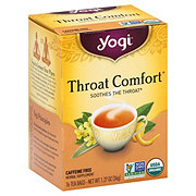 Yogi Throat Comfort Caffeine Free Tea Bags