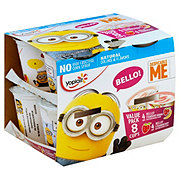 Yoplait Despicable Me Yogurt Strawberry-Banana & Strawberry
