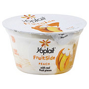 Yoplait Fruitside Peach Yogurt