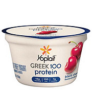 Yoplait Greek 100 Protein Black Cherry Yogurt