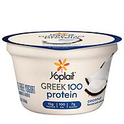 Yoplait Greek 100 Protein Coconut Greek Yogurt