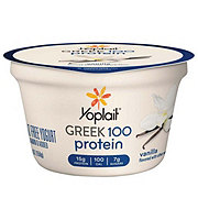 Yoplait Greek 100 Protein Fat Free Vanilla Greek Yogurt