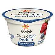 Yoplait Greek 100 Protein Mixed Berry Greek Yogurt