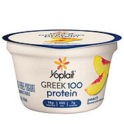 Yoplait Greek 100 Protein Peach Greek Yogurt