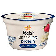 Yoplait Greek 100 Protein Strawberry Banana Greek Yogurt