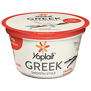 Yoplait Greek Blended Fat Free Vanilla Yogurt