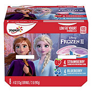 Yoplait Kids Disney Frozen Strawberry & Blueberry Yogurt Value Pack