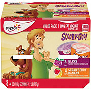 Yoplait Kids Scooby-Doo! Strawberry Banana & Berry Low Fat Yogurt Value Pack