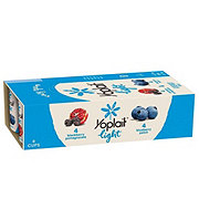 Yoplait Light Blueberry Patch/ Blackberry Pomegranate Yogurt