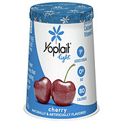 Yoplait Light Fat Free Very Cherry Yogurt