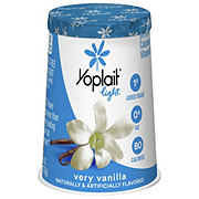 Yoplait Light Fat Free Very Vanilla Yogurt