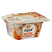 Yoplait Mix-ins Salted Caramel Pretzel Yogurt