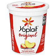 Yoplait Original Low-Fat Harvest Peach Yogurt
