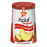 Yoplait Original Low-Fat Peach Yogurt