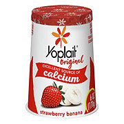 Yoplait Original Low-Fat Strawberry Banana Yogurt