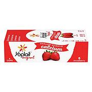 Yoplait Original Low Fat Strawberry Fridge Pack Yogurt