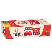 Yoplait Original Low Fat Strawberry/ Mixed Berry Fridge Pack Yogurt