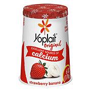 Yoplait Original Low Fat Yogurt Strawberry Banana