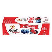 Yoplait Original Mountain Blueberry & Mix Berry Yogurt Variety Pack
