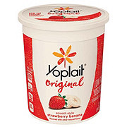 Yoplait Original Strawberry Banana Low Fat Yogurt