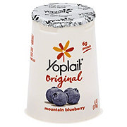 Yoplait Original Yogurt Low-Fat Blueberry