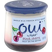 Yoplait Oui Black Cherry French Style Yogurt
