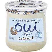 Yoplait Oui Coconut French Style Yogurt