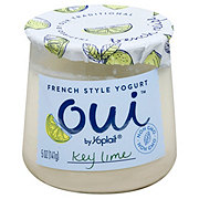 Yoplait Oui Key Lime French Style Yogurt