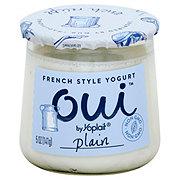 Yoplait Oui Plain Yogurt