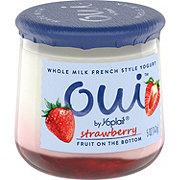 Yoplait Oui Strawberry French Style Yogurt