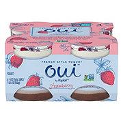 Yoplait Oui Strawberry Yogurt