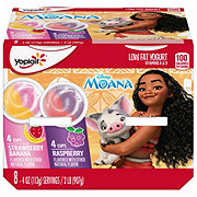 Yoplait Paw Patrol Raspberry and Strawberry Banana Yogurt