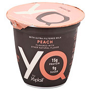 Yoplait YQ Ultra-Filtered Milk Peach Yogurt