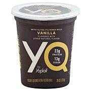 Yoplait YQ Ultra-Filtered Milk Vanilla Yogurt