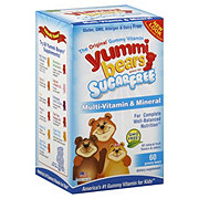 Yummi Bears Multi-Vitamin And Mineral Sugar Free Gummy Bears