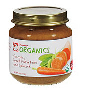 Yummy Organics 2ND Foods Carrots Sweet Potatoes Spinach