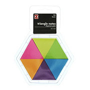 Z International Triangle Sticky Notes