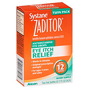 Zaditor Eye Itch Relief  Eye Drops Twin Pack