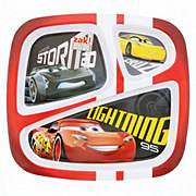 Zak! Designs Cars 3 Section Plate