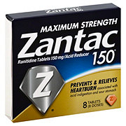 Zantac 150 Maximum Strength Acid Reducer Tablets