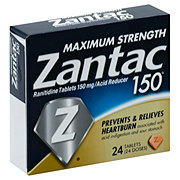 Zantac Maximum Strength Zantac 150